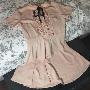 Forever21 pale pink mini dress